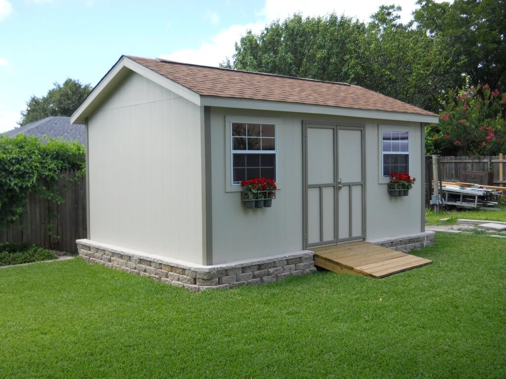 dfw shed and fence company justin tx quality builders